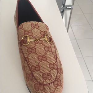 Gucci Jardaan Loafers GG Canvas